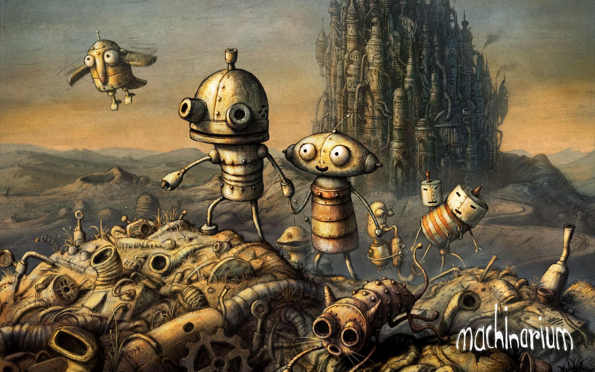 Machinarium: La solution complète en pas à pas de la première moitié du jeu