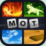4 images 1 mot - icone