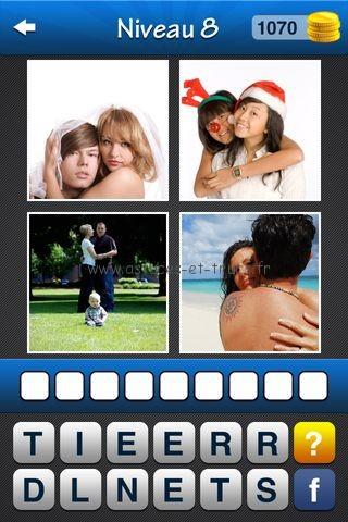 Solutions Wordmania 4 Images 1 Mot français, astuces et trucs Pack 4