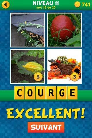 Solutions 4 Images 1 Mot Plus Français – Niveau 11, astuces et
