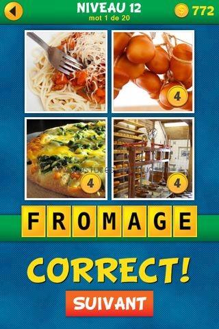 Solutions 4 Images 1 Mot Plus Français – Niveau 12, astuces et ...