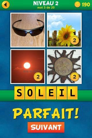Solutions 4 images 1 mot plus fran ais niveau 2 astuces for Cuisine 4 images 1 mot