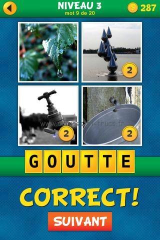 Solutions 4 Images 1 Mot Plus Français – Niveau 3, astuces et trucs