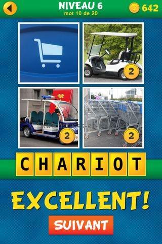 ... Solutions 4 Images 1 Mot Plus Français Niveau 6, astuces et trucs