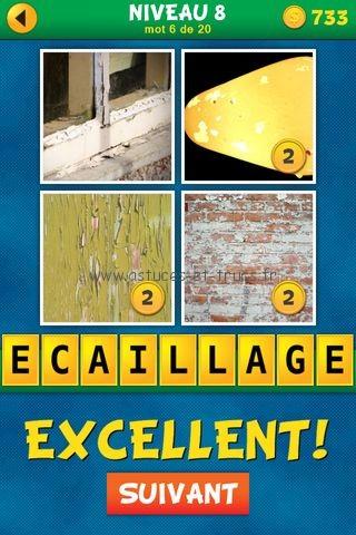 Solutions 4 images 1 mot plus fran ais niveau 8 astuces for Cuisine 4 images 1 mot