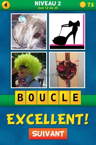 ... Images 1 Mot : Quel est le mot Français Niveau 2, astuces et trucs