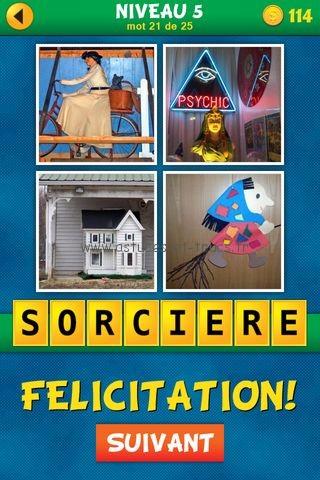 Solutions 4 Images 1 Mot : Quel est le mot Français – Niveau 5 ...
