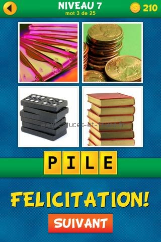 Solutions 4 Images 1 Mot : Quel est le mot Français – Niveau 7 ...