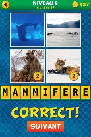 Solutions 4 Images 1 Mot : Quel est le mot Français – Niveau 9 ...