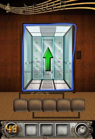 Solutions 100 Floors Escape Niveaux 49 224 55 Astuces Et Trucs