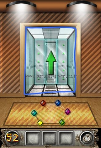 Solutions 100 floors escape niveaux 49 55 astuces et trucs for 100 floors floor 52
