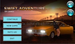 Swift adventure 1 300x179 Solutions Swift Adventure, astuces et trucs