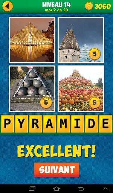 Solutions 4 Images 1 Mot Plus Français Niveau 14, astuces et trucs