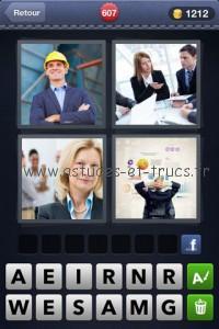 4 Images 1 Mot Niveau 607 200x300 Solutions 4 images 1 mot niveaux 599 à 723, astuces et trucs